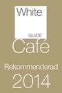 White Guide Café rekommenderad